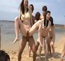Jovencitas japonesas folladas en la playa