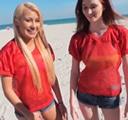 imagen Propuesta indecente a dos desconocidas en la playa