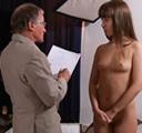 Jovencita en casting porno