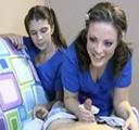 Jovencitas enfermeras