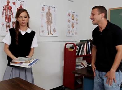 profesor alumna
